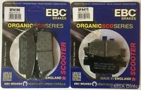 EBC Organic FRONT & REAR Disc Brake Pads Fits HONDA NSS300 FORZA (2018 to 2020)
