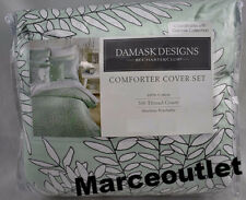 Charter Club Damask Designs Fern Mint Twin Duvet Cover & Sham Set