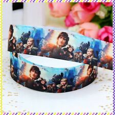 How to Train your Dragon 7/8 Inch Grossgrain Ribbon - One Metre - Craft/Cake