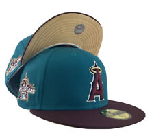 LOS ANGELES ANGELS 2010 ALL STAR GAME METALLIC GOLD BRIM NEW ERA FITTED HAT