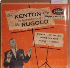 """Compositions of Pete Rugolo by Stan Kenton 7"""" EP 45rpm (1951 Capitol EAP 1-508)"""