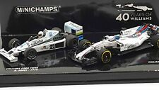 Minichamps 412177840 1/43 2 Car Williams 40th Anniversary Set 1978 FW06 / FW40