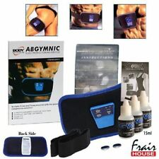 NEW AB GYMNIC TONER TONING BELT SCULPT FIRM BOOST ARMS SEX ABS THIGHS+Extra Gel