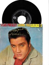 Elvis Presley - Loving You Vol. 1   Vinyl EP ( Black RCA - Top open )