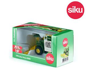 Siku 1794 John Deere 8500i Forage Harvester Combine DiCast 1:87 Scale Model Toy