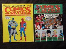 1990 COMICS REVUE Magazine #55 56 FN/FN+ LOT of 2 Spider-Man Batman Phantom