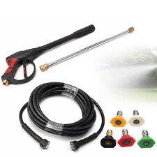 Hochdruckpistole Lanze M22 Adapter mit 5 Düsen für Hochdruckreiniger Autowäsche