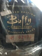 Buffy The Vampire Slayer Limited Edition Collectors Bears