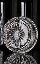 "4 Waterford Crystal Somerset Wine Bottle Coaster, 5"" Lismore Champagne Coaster"
