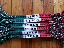 12 Handmade Friendship Bracelet Cotton  Italy
