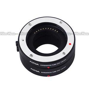 FOTGA Macro AF Auto Focus Extension Tube DG for Four Thirds M43 Micro 4/3 Camera