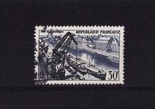 timbre France   port de Strasbourg      num: 1080    oblitéré