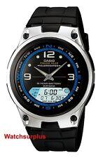 Casio AW82-1A Men's Analog Digital Chronograph Alarm Fishing Gear Sports Watch
