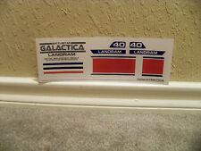 Battlestar Galactica Landram Decals/ Stickers
