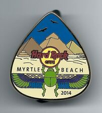 Hard Rock Cafe MYRTLE BEACH Pyramids Guitar Pick 2014. Pin. P3