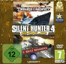 Silent Hunter 4 Gold-pc dvd-rom-Neuf & immédiatement