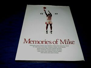 MICHAEL JORDAN-MEMORIES OF MIKE-CHICAGO BULLS-FIRST EDITION HARDCOVER BOOK