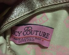 GORGEOUS AUTHENTIC JUICY COUTURE DESIGNER WOMENS CROSSBODY BAG BLING PAID $200+