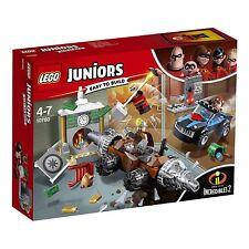 NEW LEGO JUNIORS INCREDIBLES 2 UNDERMINER BANK HEIST 10760