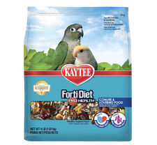 New listing Kaytee Forti-Diet Pro Health Conure and Lovebird Food 4 pounds