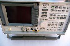 HP 8594Q QAM spectrum analyzer 9khz-2.9ghz DVB-3 options 190 and 195