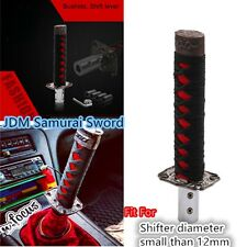 15cm shift knob gear JDM Gearsticks Gear shift knob gear Black+Red Katana Metal