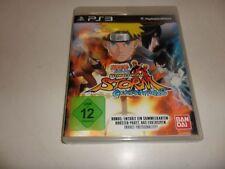 PLAYSTATION 3 PS 3 Naruto Shippuden: ULTIMATE NINJA STORM GENERATIONS