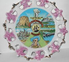 """""""Little America"""" Wyoming Collector Plate. Vintage Graphics from 70's era"""