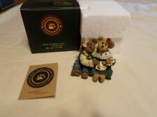 "Boyds Bears & Friends "" Edie & Geri.A Week Of Sundaes "" Lnib 1St Edition"