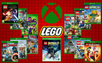 LEGO Xbox Games - New & Sealed - LEGO Microsoft Xbox One Movie Game Range
