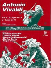 Vivaldi a fumetti : libro con CD - disegni di Toppi, Gattia, Alessandrini -nuovo