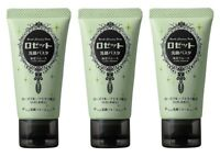 3 pcs ROSETTE Cleansing Paste 120g KAIDEI SMOOTH Sea Mud Face Wash from Japan