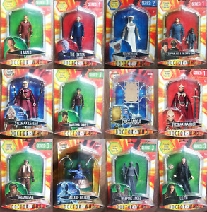 """Doctor Who Poseable Action Figure Set 5"""" Dr Toy Gift Collectable New Sealed Rare"""