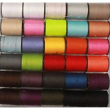 30 x Assorted Sewing Stiching Embroidery Thread Yarn Spools (300 meters)