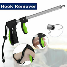 Easy Fish Hook Remover T-Handle Extractor Tackles Detacher Fishing Tool w/ Strap