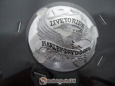Harley Davidson vivre pour conduire Bouchon de réservoir Médaillon chrome