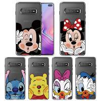Luxury Cute Cartoon Ultra Thin Clear Silicone TPU Soft Bumper Phone Case Cover