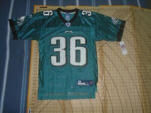 MENS SMALL NOS REEBOK/NFL PHILADELPHIS EAGLES #36 WESTBROOK JERSEY - NWT