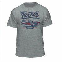 NHRA National Hot Rod Association Red White & Blue Drag Racing Men's Vintage...