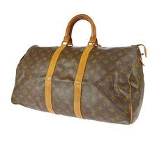 LOUIS VUITTON KEEPALL 45 TRAVEL HAND BAG PURSE MONOGRAM bq M41428 821 SA A49118