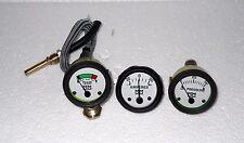 Minneapolis Moline Tractor Temperature Oil Pressure Ammeter Gauge Kit