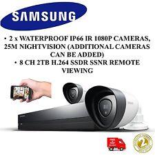 Samsung Techwin SDH-P4021/UK 1080p HDTV 2TB Kit de seguridad híbrido cámaras de bala