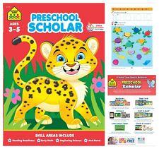School Zone Early Math ABCs Writing and More Preschool Workbook Kindergarten