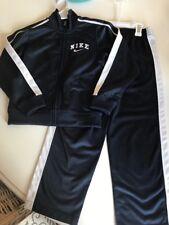 NWT Nike Boys Navy Track Suit Pants Jacket Sz 7