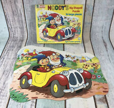 Noddy's Big Shaped Jigsaw Puzzle 16 Large Pieces 1992 Michael Stanfield
