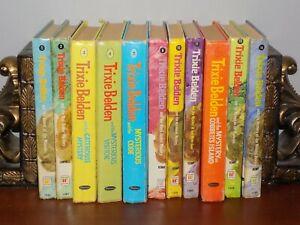 Lot of 11 vintage Trixie Belden books - Whitman hardback 1950s-1970s