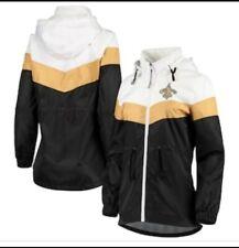 🏈⚜ New Orleans Saints Jacket NFL Zip Windbreaker Hoodie Carl Banks 3986102