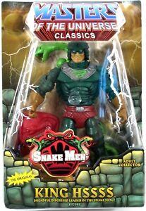 *DAMAGED PACKAGE* Masters of Universe Classics KING HSSSS Snake Men Figure MOTU