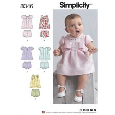 Simplicity Baby Easy Sewing Pattern 8346 Dresses & Panties (Simplicity-83...