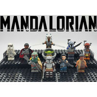 Star Wars NEW Mandalorian Series Set Minifigures Custom Lot Building Toys Kids